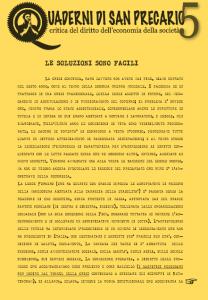 Quaderni di San Precario n. 5