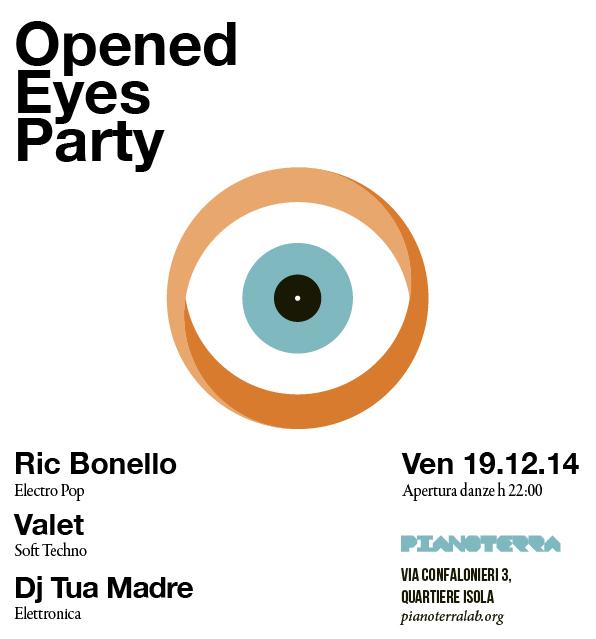 Opened Eyes Party | Festone di fine anno
