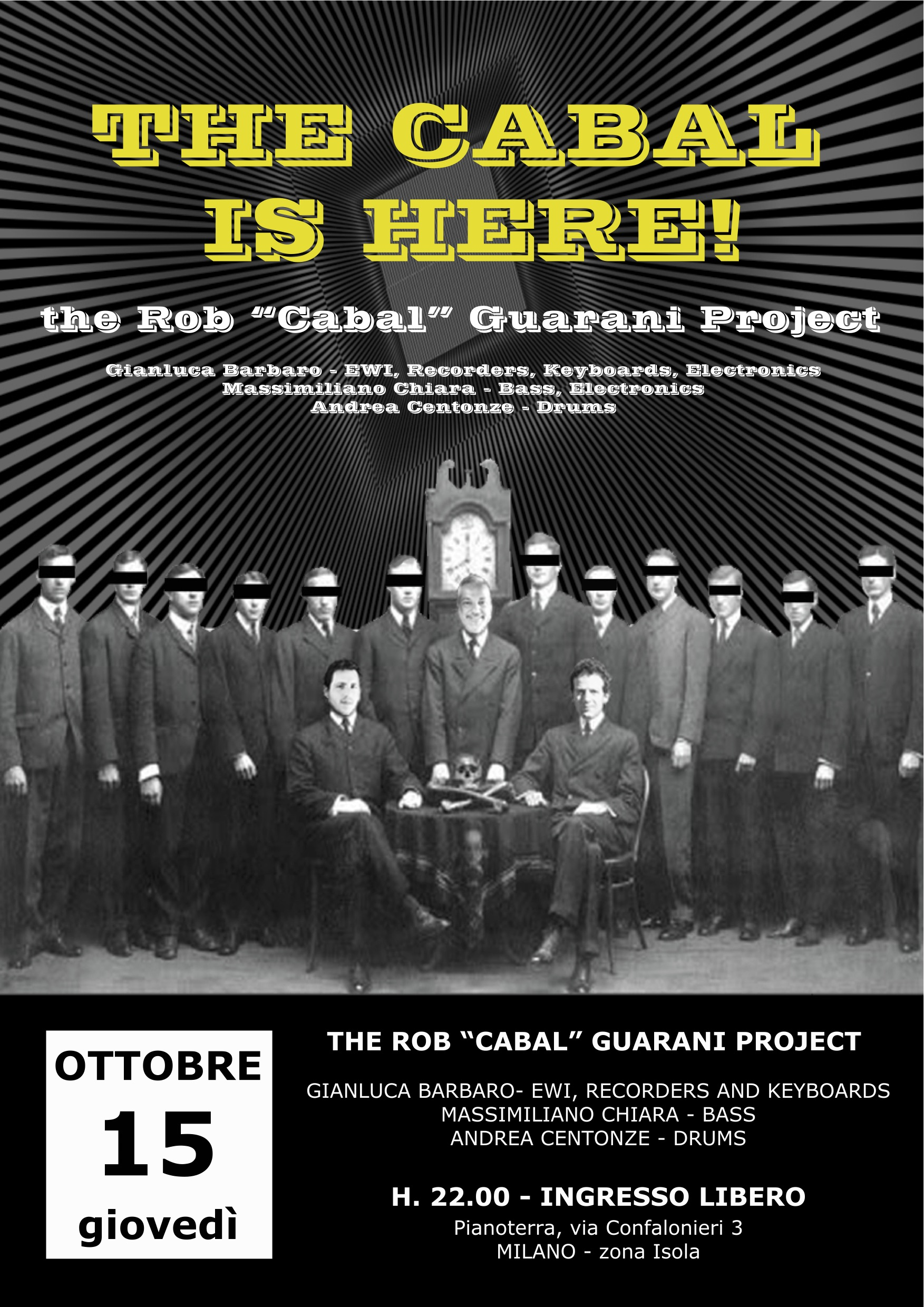 """The Cabal is Here! 