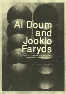 Al Doum and Jooklo Faryds @ Piano terra | Milano | Lombardia | Italia