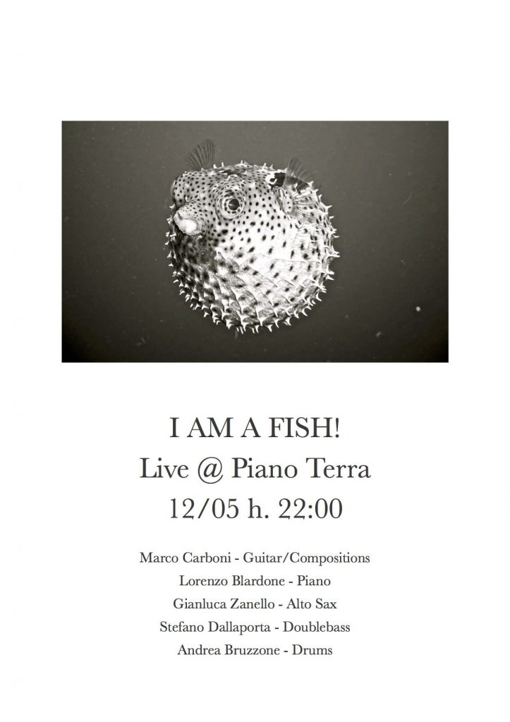 I AM A FISH! | live act
