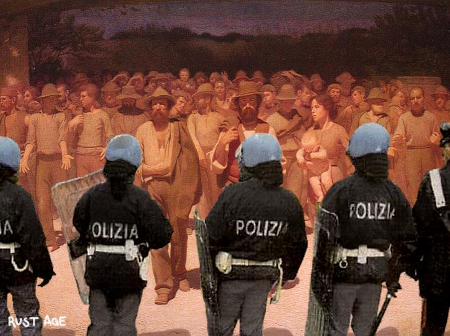 Musica e parole contro la repressione