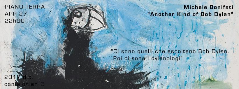 "Michele Bonifati presenta ""Another Kind of Bob Dylan"""