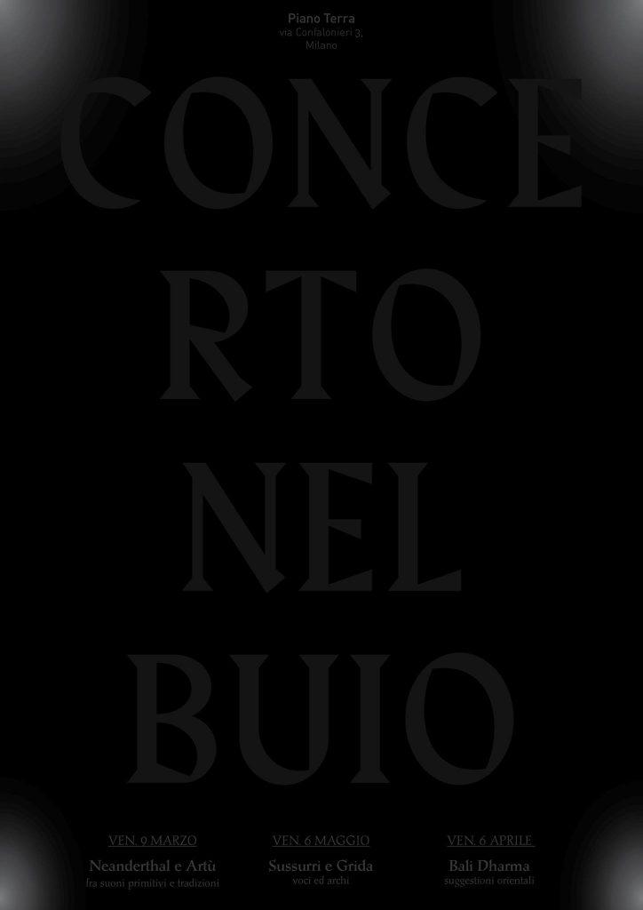 Concerto Nel Buio - tre incontri | #3