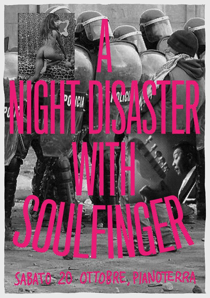 A Night Disaster With Soulfinger - dj'ng