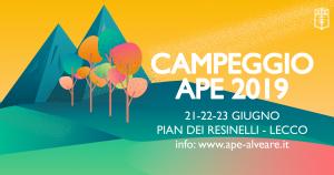 Campeggio APE 2019 ai Piani Resinelli