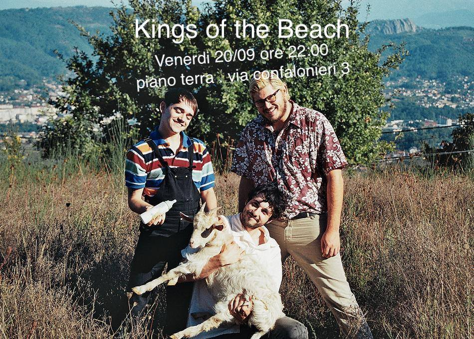 !!! ANNULLATO!!! Kings of the Beach live